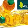 immagine due bottiglie di olio con scritta ASMIU bianca su fondo verde